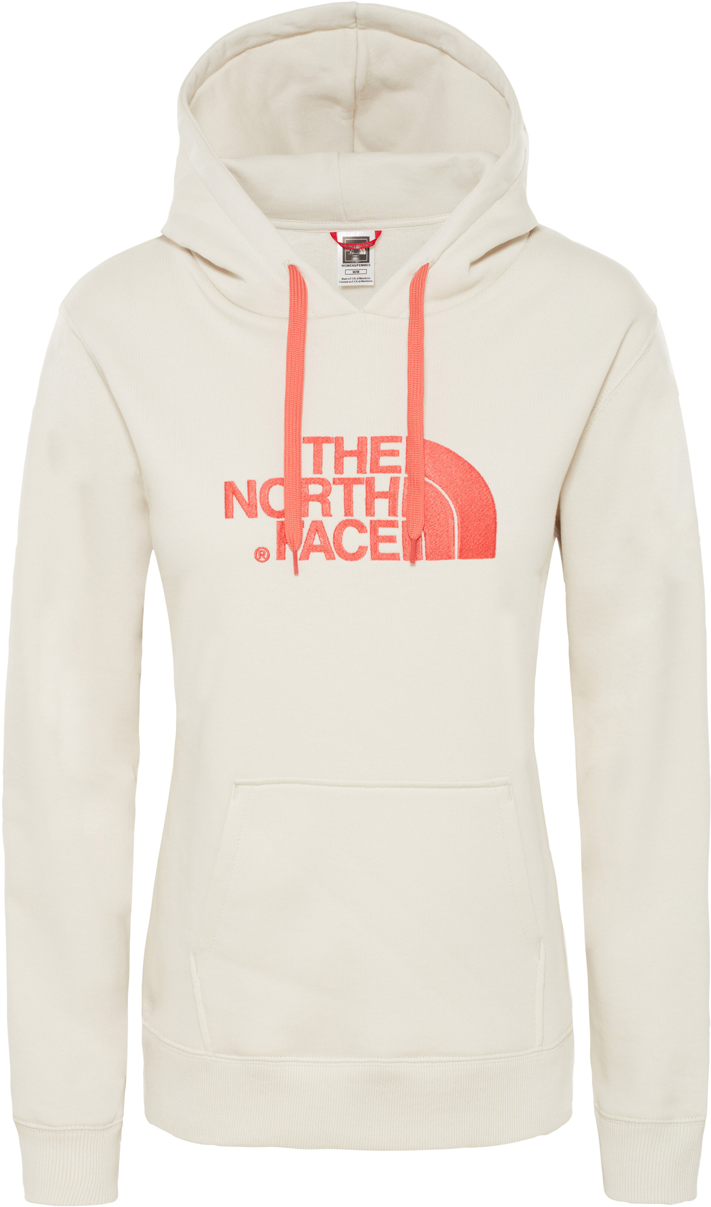 bd9676617 The North Face Drew Peak Pullover Hoodie Women vintage white/spicd coral